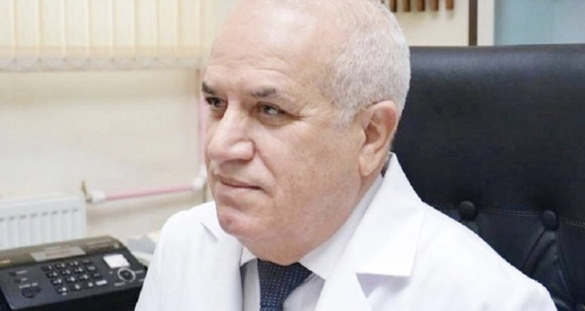 Medicul-epidemiolog al Azerbaidjanului, Ibadulla Agaev, a demisionat