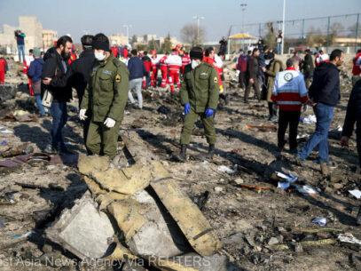 Boeingul ucrainean doborât în Iran: Kievul salută trimiterea cutiilor negre în Franţa