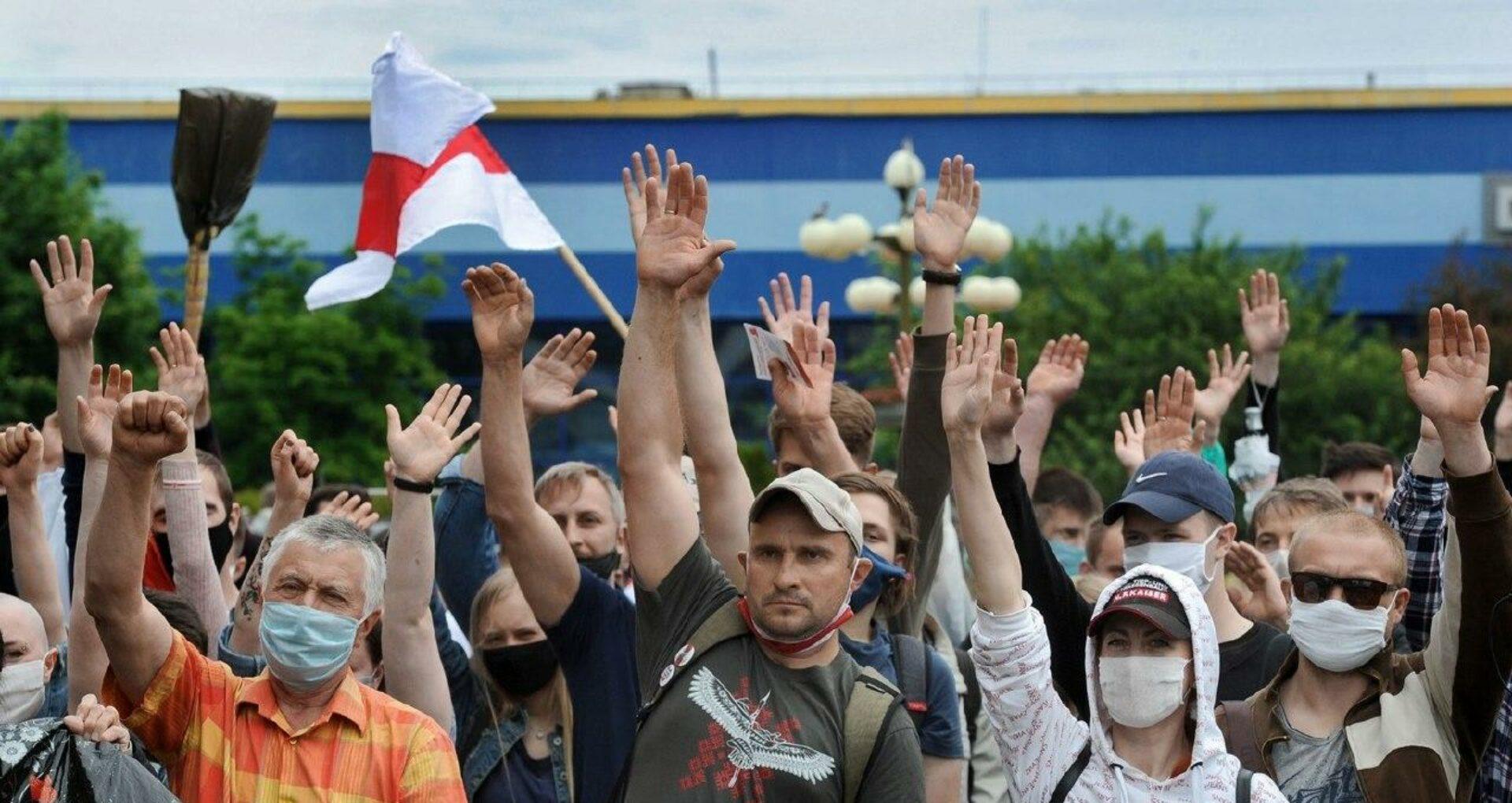 LIVE, VIDEO/ Proteste în Belarus după ce doi candidați ai opoziției au fost scoși din cursa pentru prezidențiale