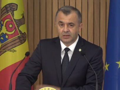 """Premierul Chicu, după prima ședință a Legislativului din noua sesiune: """"Acest Parlament trebuie dizolvat fără întârziere"""""""