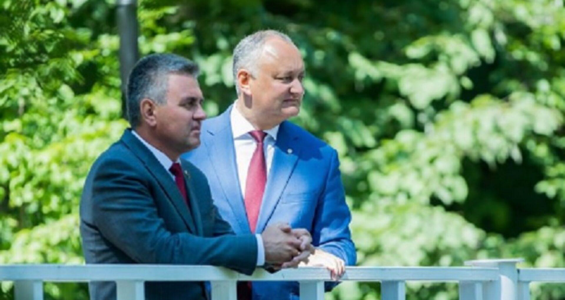 """Igor Dodon, sesizat la PG, după ce l-a numit pe Vadim Krasnoselski """"președintele Transnistriei"""": """"Este o ilegalitate, care constituie un act de trădare de țără și un grav atentat la statul Republica Moldova"""""""