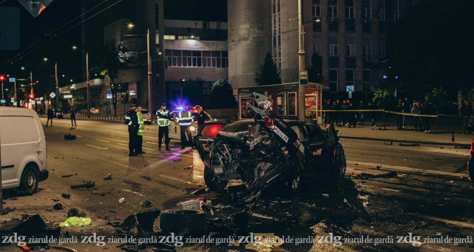 Șoferul de la volanul mașinii Audi, care a provocat accidentul de pe bd. Ștefan cel Mare, și-a recunoscut vina și va compărea în fața magistraților