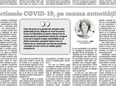 Victimele COVID-19, pe seama autorităților