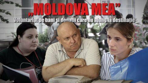 """VIDEO/ """"Moldova Mea"""": Voluntariat pe bani și donații care nu ajung la destinație"""