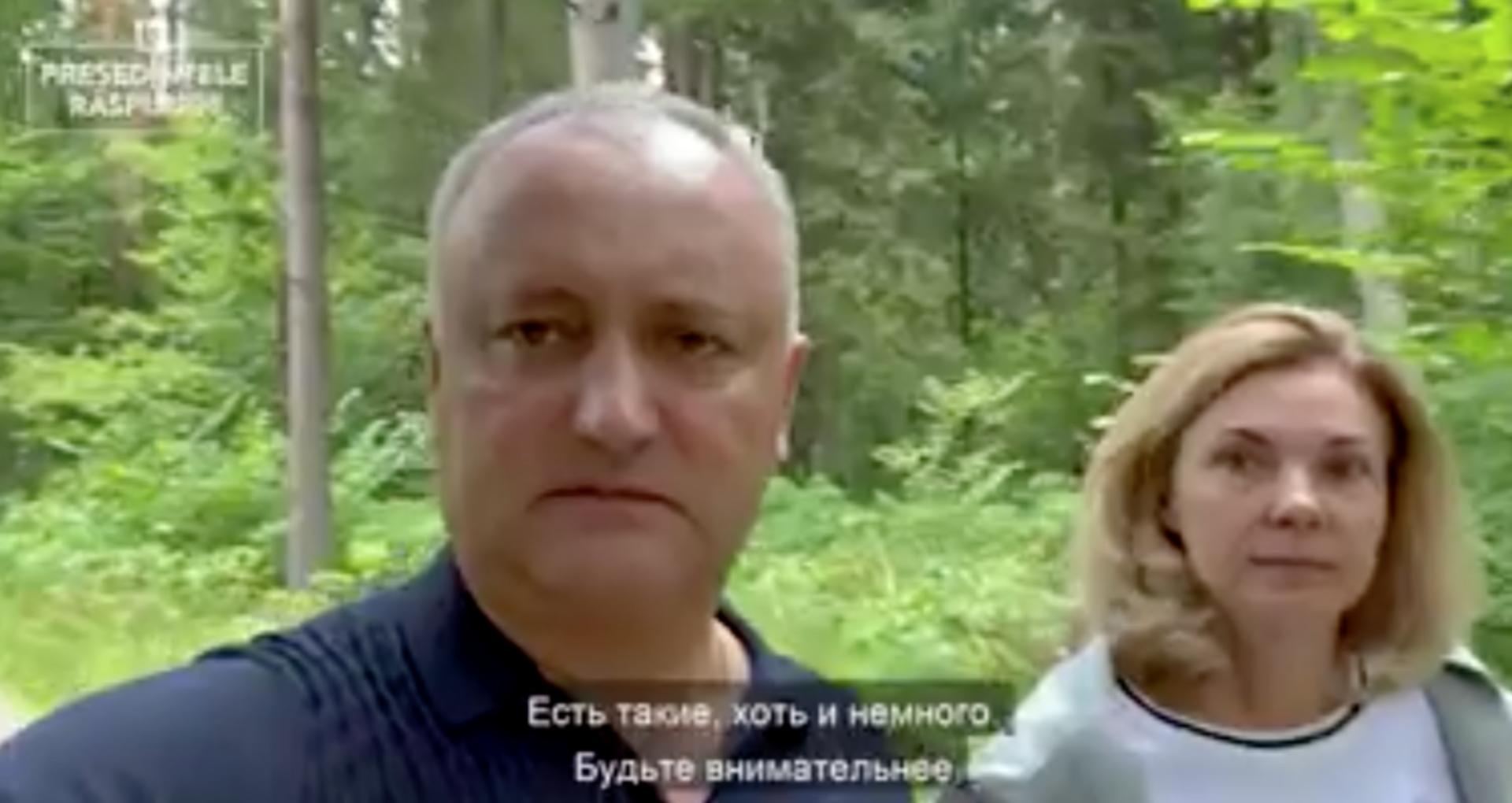 Vacanța familiei prezidențiale: Igor Dodon și cu prima doamnă se odihnesc în Rusia, copiii – în Turcia