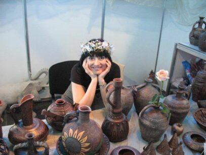 """Ceramista Eleonora Soroca: """"În creație, este foarte important să fii liber, să nu ai limite, să te lași dus de val"""""""