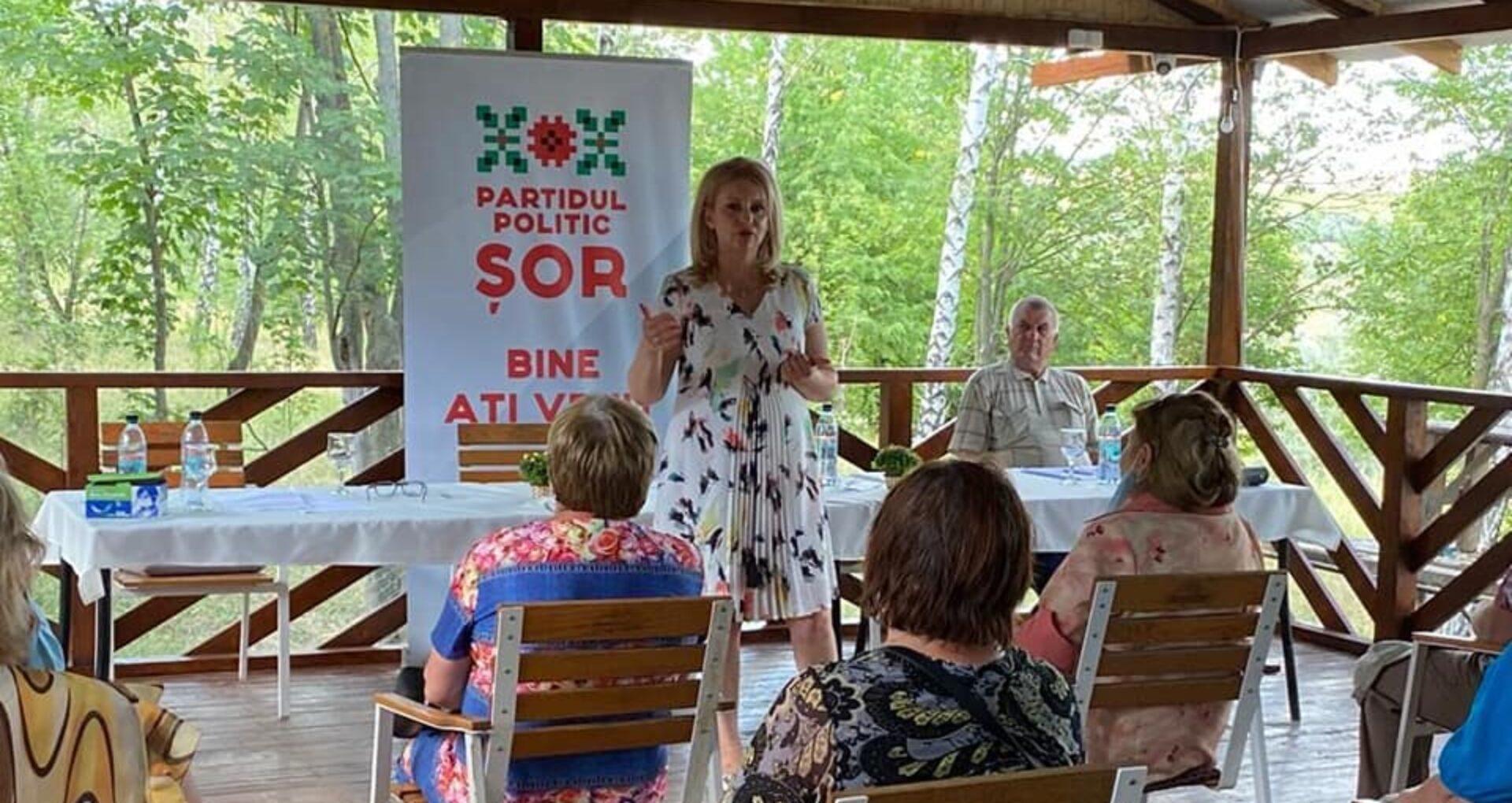 """Violeta Ivanov ar urma să fie candidata Partidului """"Șor"""" la prezidențiale"""