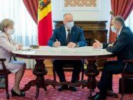 """VIDEO/ Declarații după ședința """"conducerii de vârf a țării"""""""