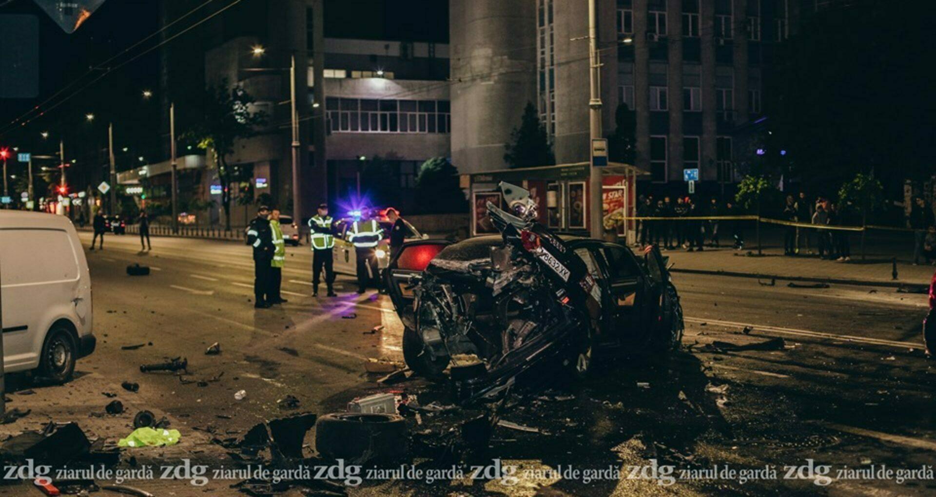 DOC/ Șoferul de la volanul mașinii Audi, care a provocat accidentul de pe bd. Ștefan cel Mare, condamnat la închisoare în penitenciar de tip deschis