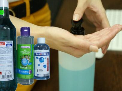 VIDEO/ Testarea eficienței dezinfectanților, misiune imposibilă în R. Moldova