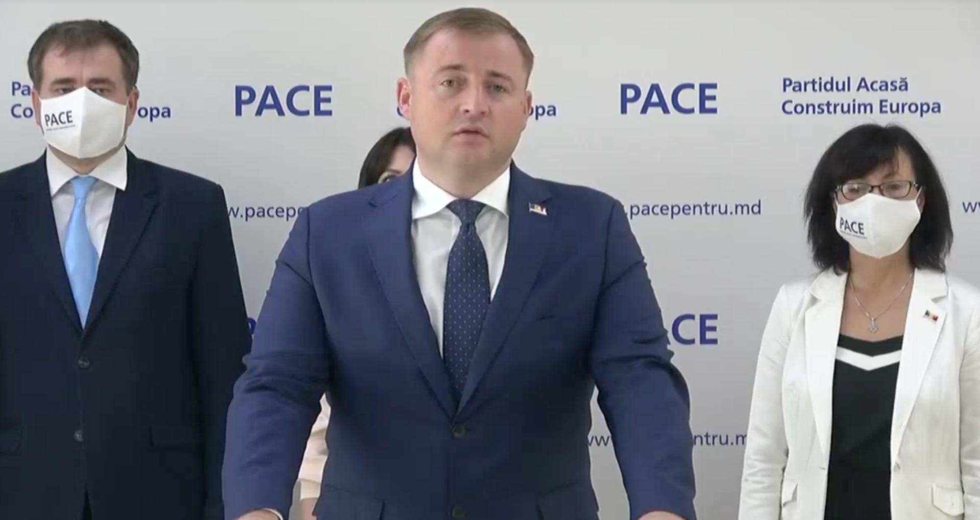 VIDEO/ PACE se plânge de abuzuri din partea instanței și CEC pentru că nu i se permite să-și înregistreze propriul candidat la prezidențiale