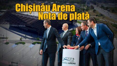 VIDEO/ Chișinău Arena. Nota de plată
