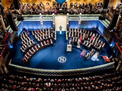 Ceremonia fizică a decernării premiilor Nobel de la Stockholm, anulată în acest an