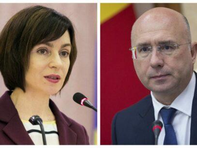 """Un deputat PSRM susține că Pavel Filip și Maia Sandu ar fi avut astăzi o întrevedere pentru a discuta demiterea Guvernului. """"Se pare că democrații încep propriul joc"""". Reacția PAS"""