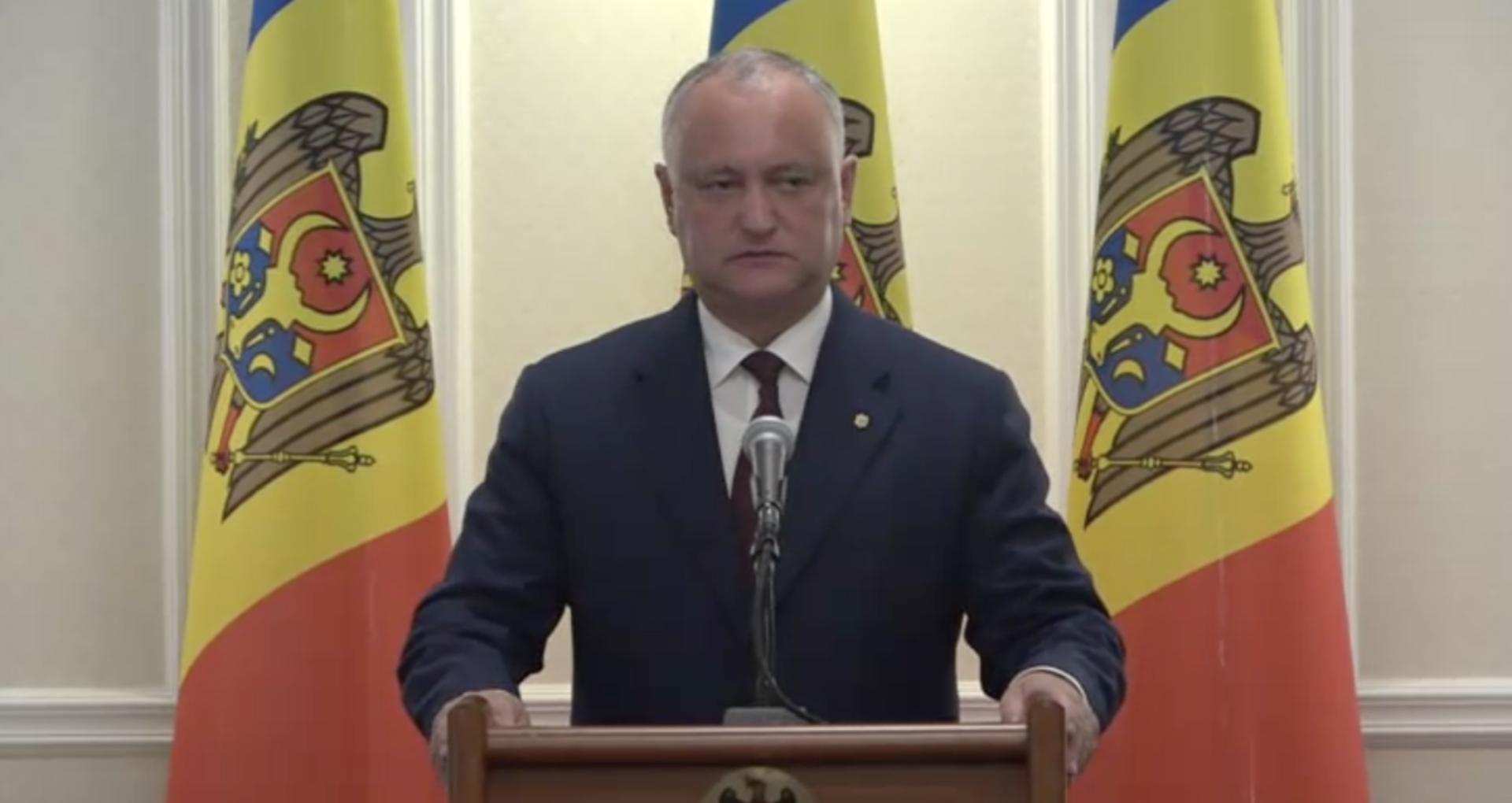 """Igor Dodon, după ce a fost criticat de ministrul Șarov: """"Dacă nu poate să se documenteze, atunci se poate de luat și alte decizii politice – ca să se învețe"""""""