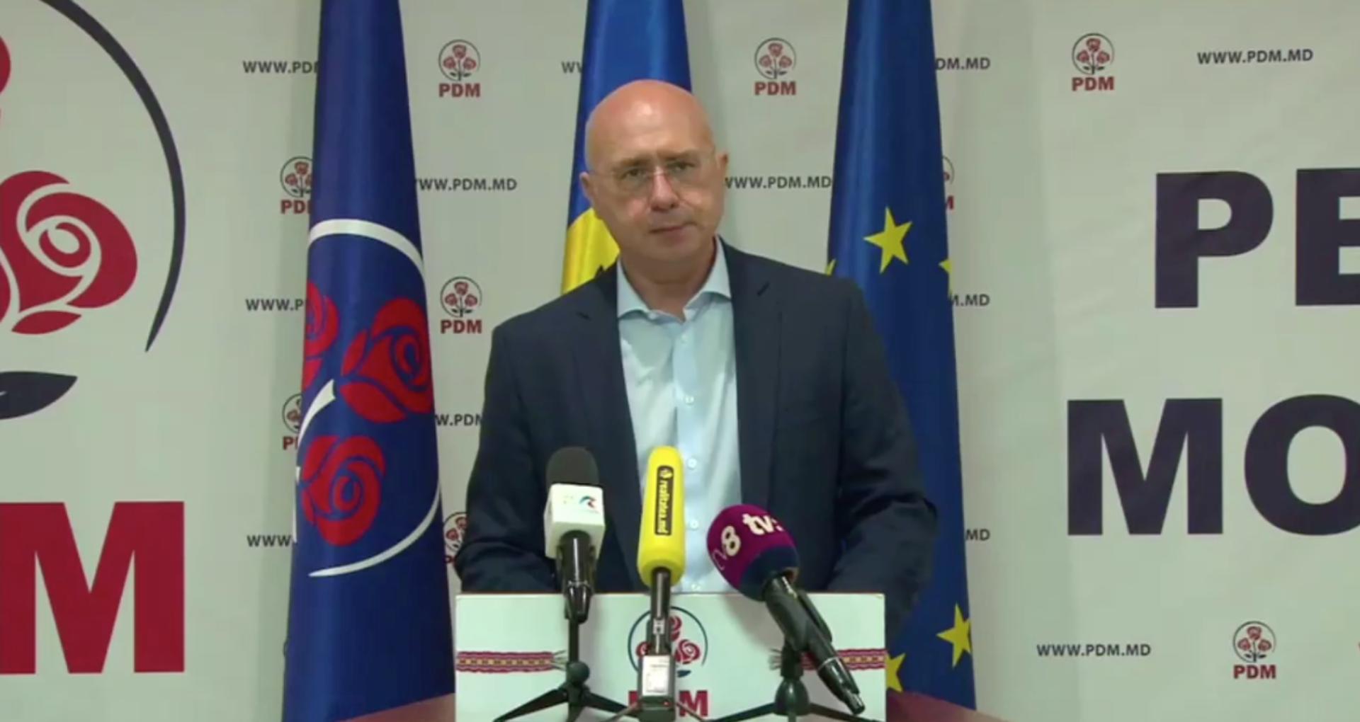 Pavel Filip povestește cum pe timpul lui Plahotniuc PDM l-a susținut pe Igor Dodon la alegerile prezidențiale din 2016: A fost o greșeală