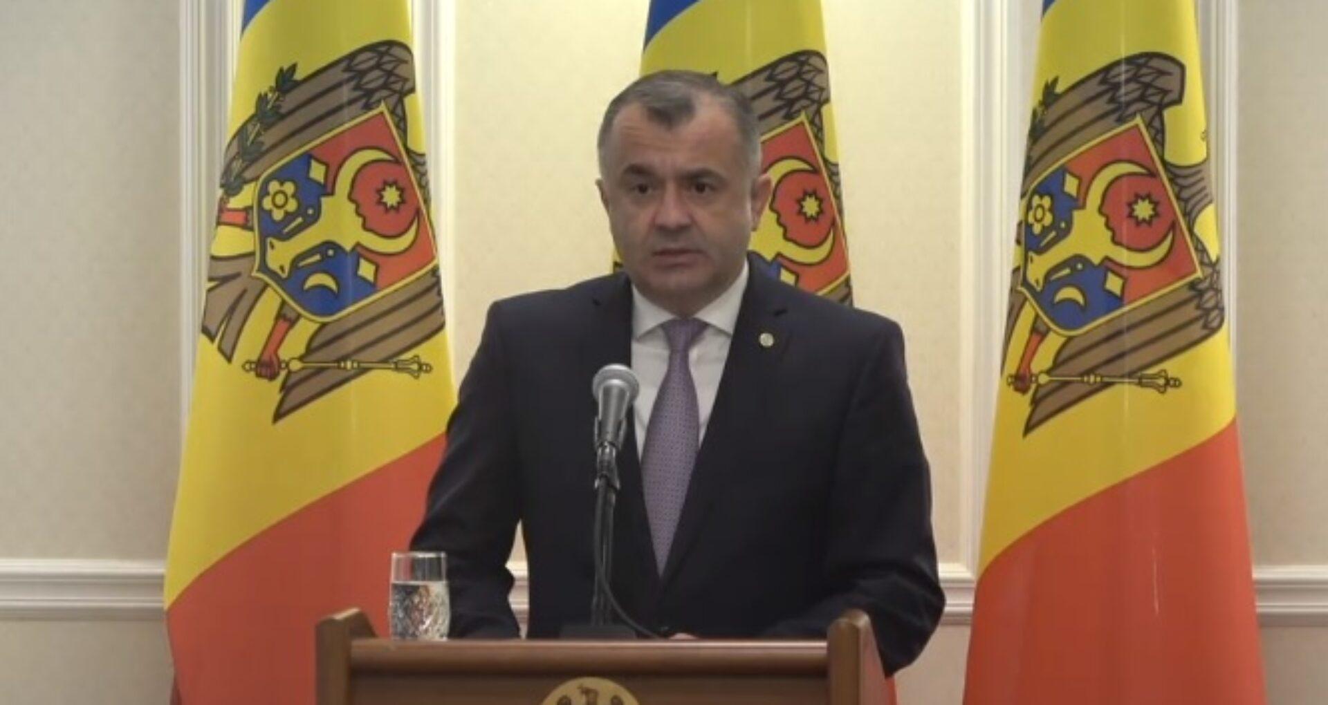 """Video/ Declarații după ședința """"conducerii de vârf a țării"""". Premierul Chicu: """"Guvernul va acorda tot suportul necesar pentru desfășurarea alegerilor"""""""