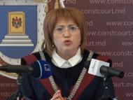 LIVE/ Briefing de presă susținut de Președinta CC a R. Moldova, Domnica Manole, după ce a fost declarată neconstituțională legea privire la statutul special pentru limba ruse