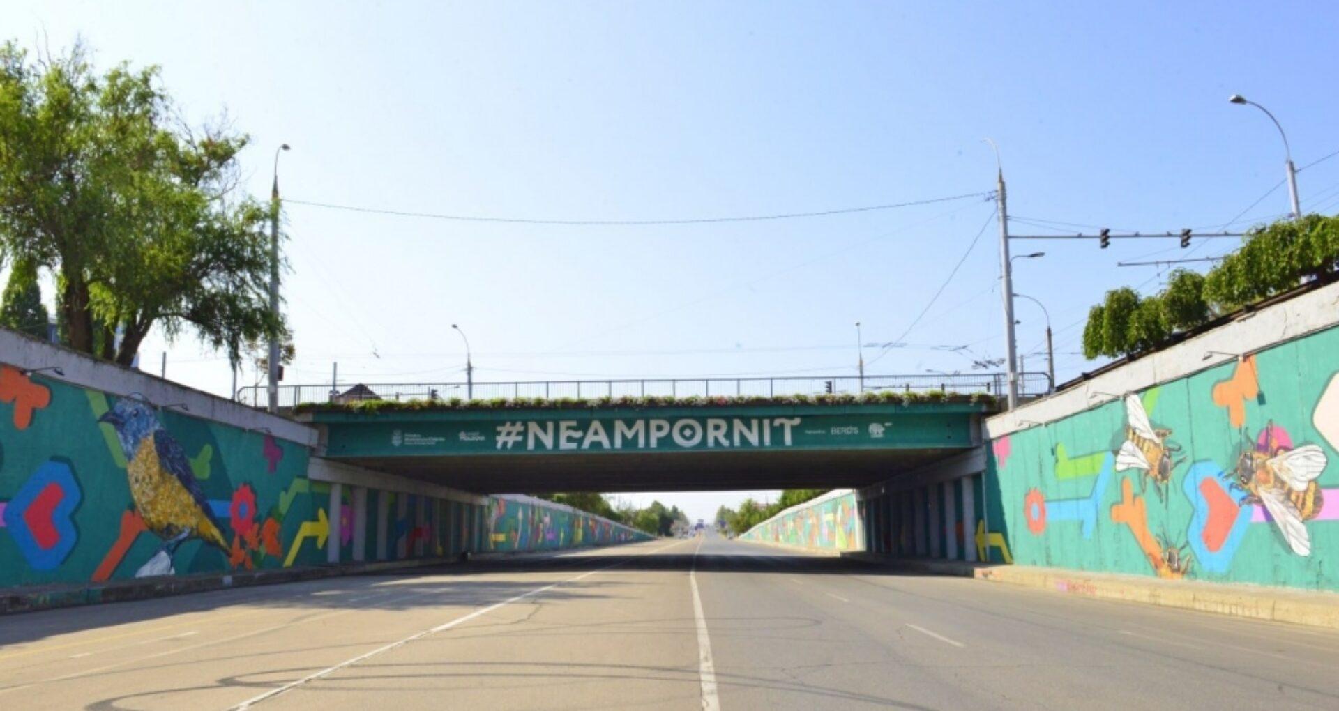 Zona de sub podul de la Telecentru va fi pietonală în acest weekend. Autoritățile anunță activități pentru copii
