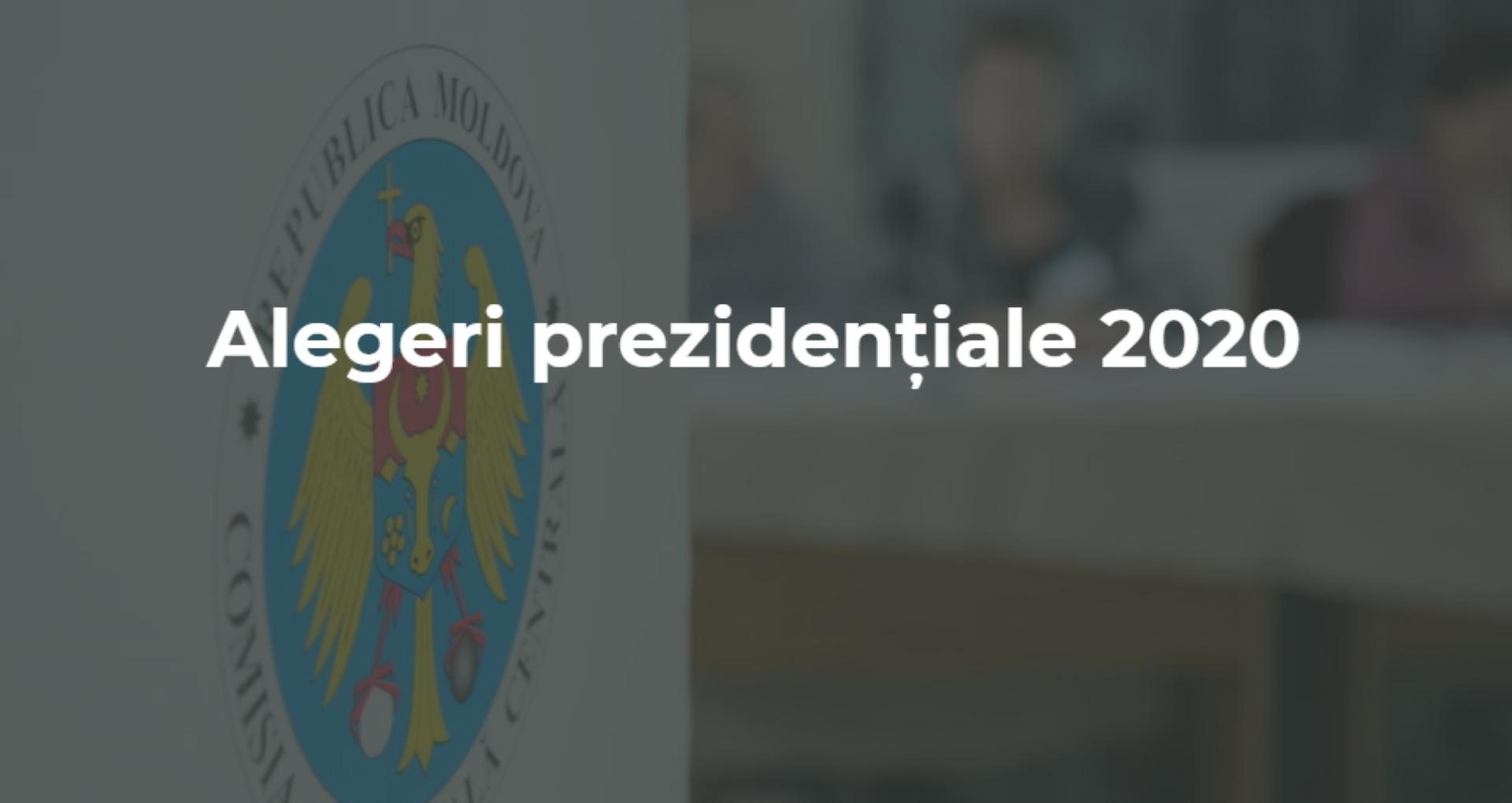 Lista secțiilor de votare din străinătate pentru alegerile prezidențiale din R. Moldova