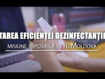 Testarea eficienței dezinfectanților, misiune imposibilă în R. Moldova