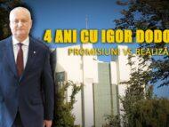VIDEO/ 4 ani cu Igor Dodon. Promisiuni vs Realizări