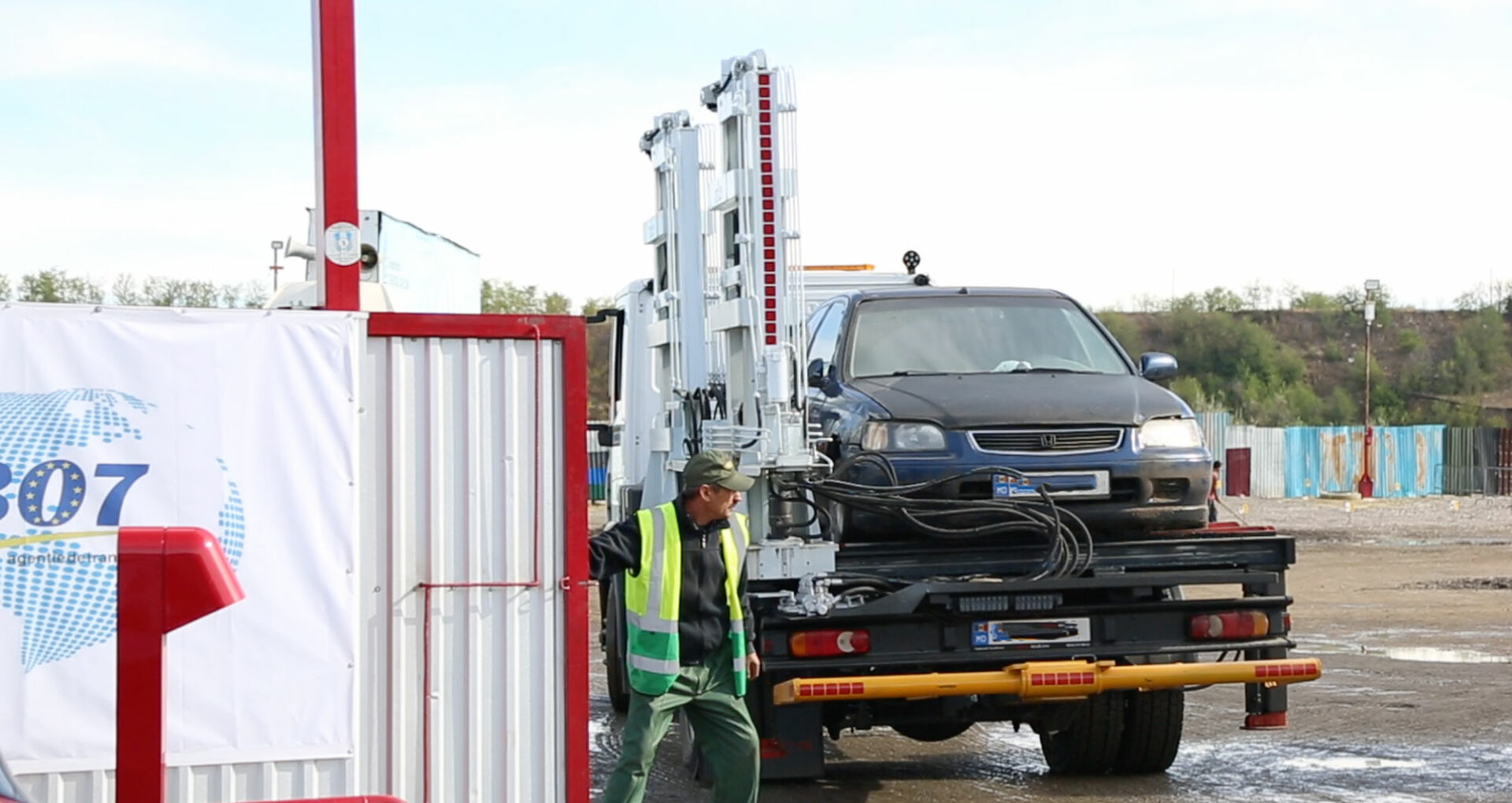 """VIDEO/ Cum activează """"parcarea specială"""", locul unde sunt duse mașinile parcate neregulamentar. Precizările IGP"""