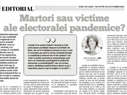 Martori sau victime ale electoralei pandemice?