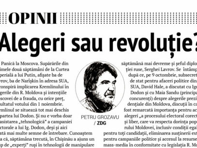 Alegeri sau revoluție?