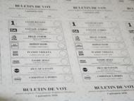 CEC a dat start tipăririi buletinelor de vot pentru alegerile prezidențiale din 1 noiembrie 2020, pentru secțiile de votare deschise pe teritoriul țării