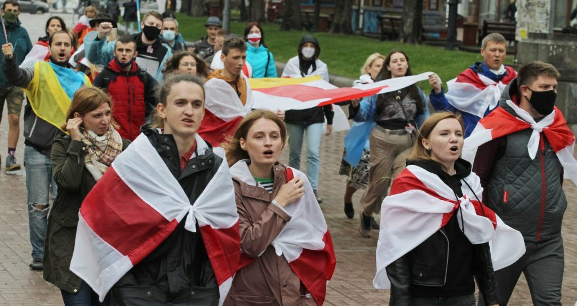 Noi rețineri la Minsk în a zecea săptămână de proteste din capitala Belarusului