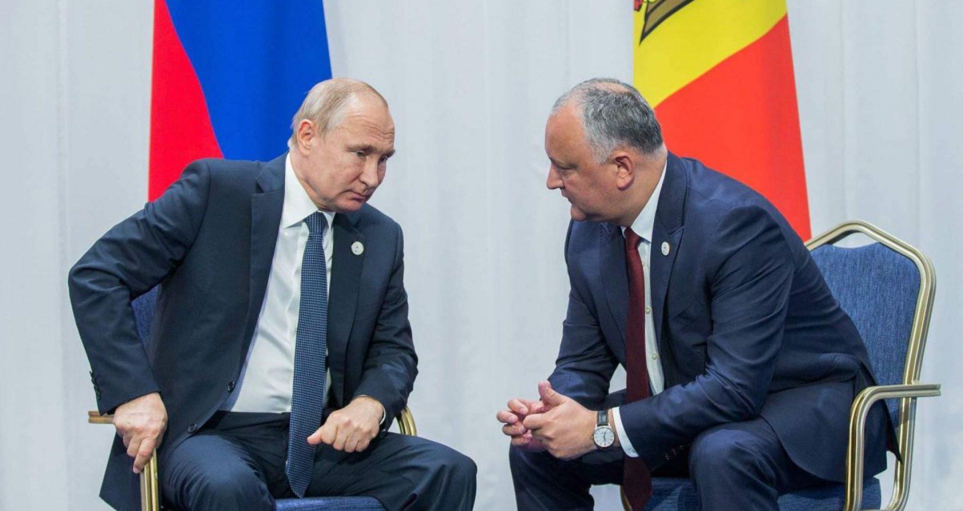 Igor Dodon nu este așteptat la Moscova până la expirarea mandatului de președinte