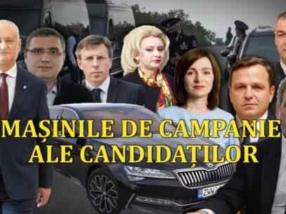 Mașinile de campanie ale candidaților, care lipsesc din rapoartele financiare