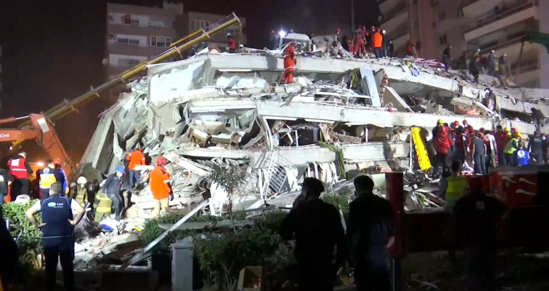 VIDEO/ Cutremur în Turcia și Grecia. 14 morți și 419 răniți, după ce mai multe clădiri s-au prăbușit