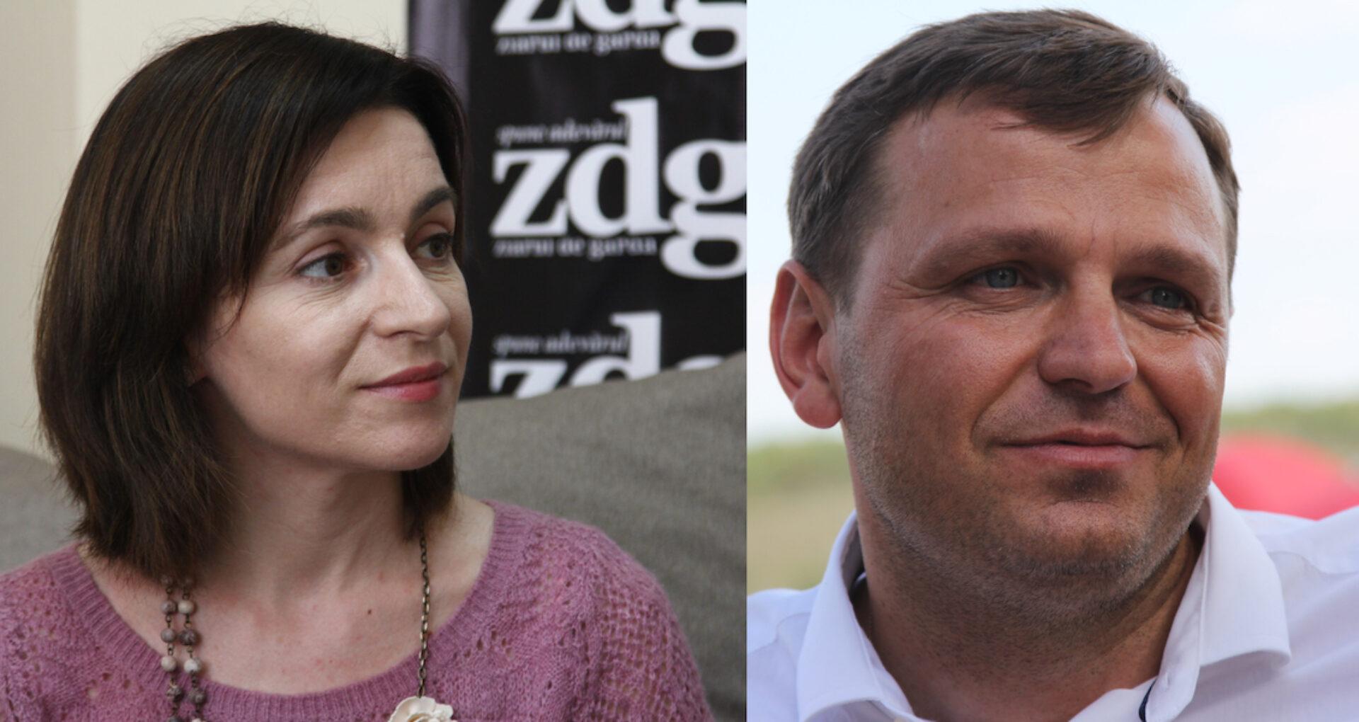 """Reacția Maiei Sandu după ce Andrei Năstase a declarat că el este """"singurul candidat capabil să-l învingă pe Igor Dodon"""""""
