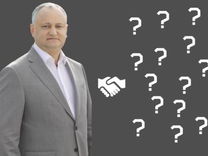 VIDEO/ Cui a strâns mâna Igor Dodon în patru ani de mandat?