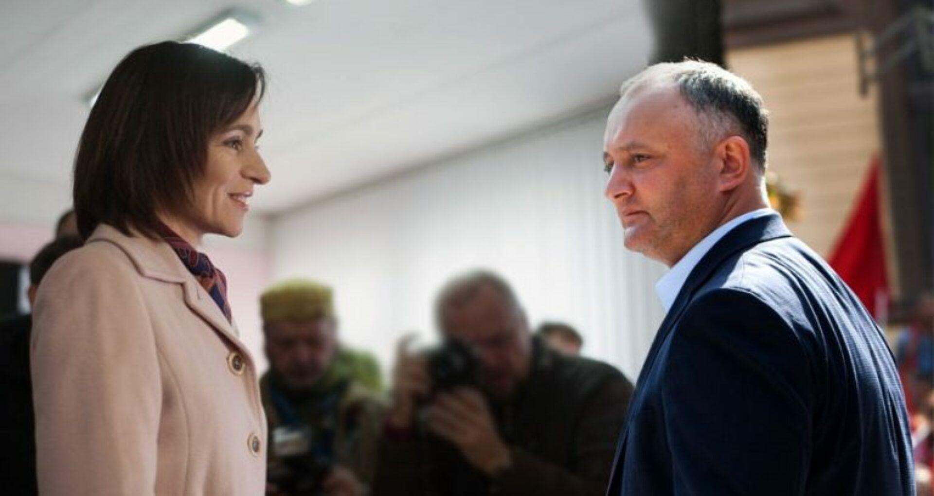 Igor Dodon spune de ce cei mai mulți moldoveni au votat-o pe Maia Sandu