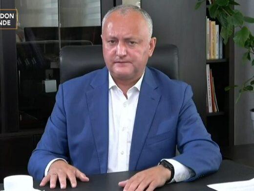 """Dodon, după declarația șefului spionajului rus: """"Stimați parteneri ruși și americani, nu vă băgați în treburile interne ale R. Moldova, găsiți-vă alt teren de joacă"""""""