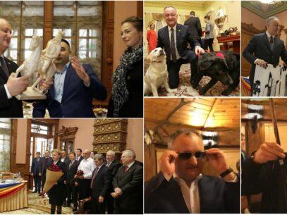DOC/ Lista cadourilor primite de Igor Dodon în cei patru ani de președinte