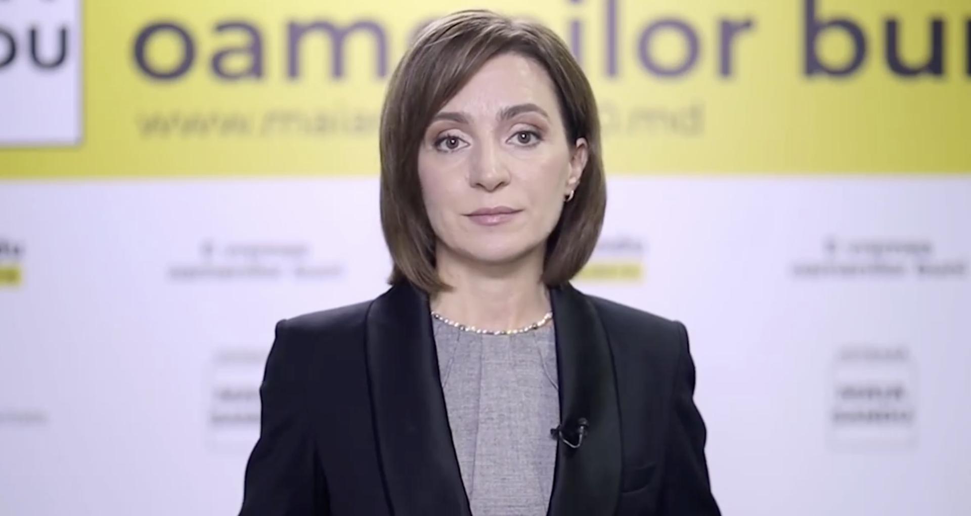 Prezidențiale: Lidera PAS Maia Sandu îl cheamă pe Igor Dodon la o dezbatere publică