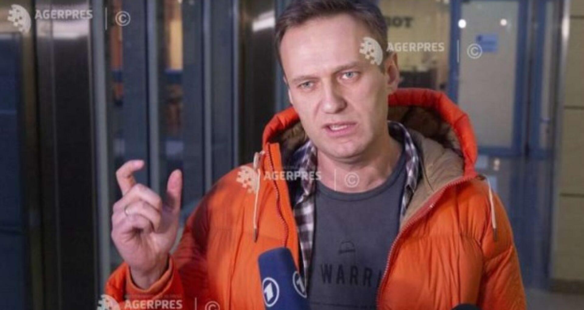 Alexei Navalny declară că Putin s-a aflat în spatele tentativei de otrăvire