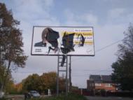 PAS anunţă despre vandalizarea unui panou electoral amplasat la Ocnița