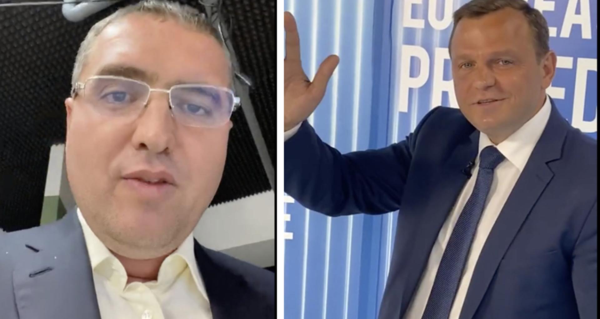VIDEO/ Pariul lui Renato Usatîi: Dacă Andrei Năstase ia mai mult de 10% la alegerile prezidențiale, îi cumpără un Mercedes E Class nou