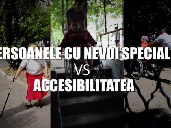 Persoanele cu nevoi speciale vs accesibilitatea