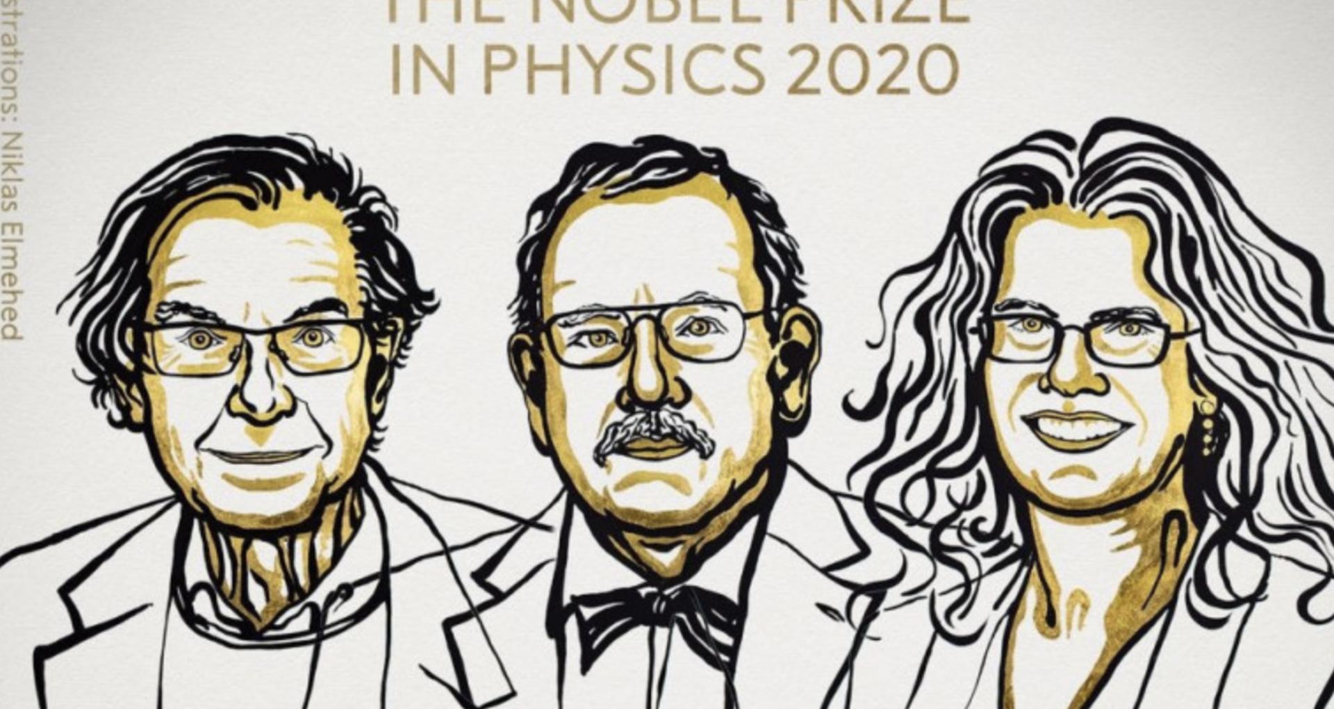 Premiul Nobel 2020 pentru Fizică, acordat pentru descoperiri în domeniul găurilor negre