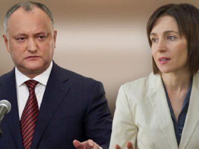DOC/ Cererea de chemare în judecată depusă de Sandu în privința lui Dodon și pliantele defăimătoare ajunge, din nou, la CA Chișinău