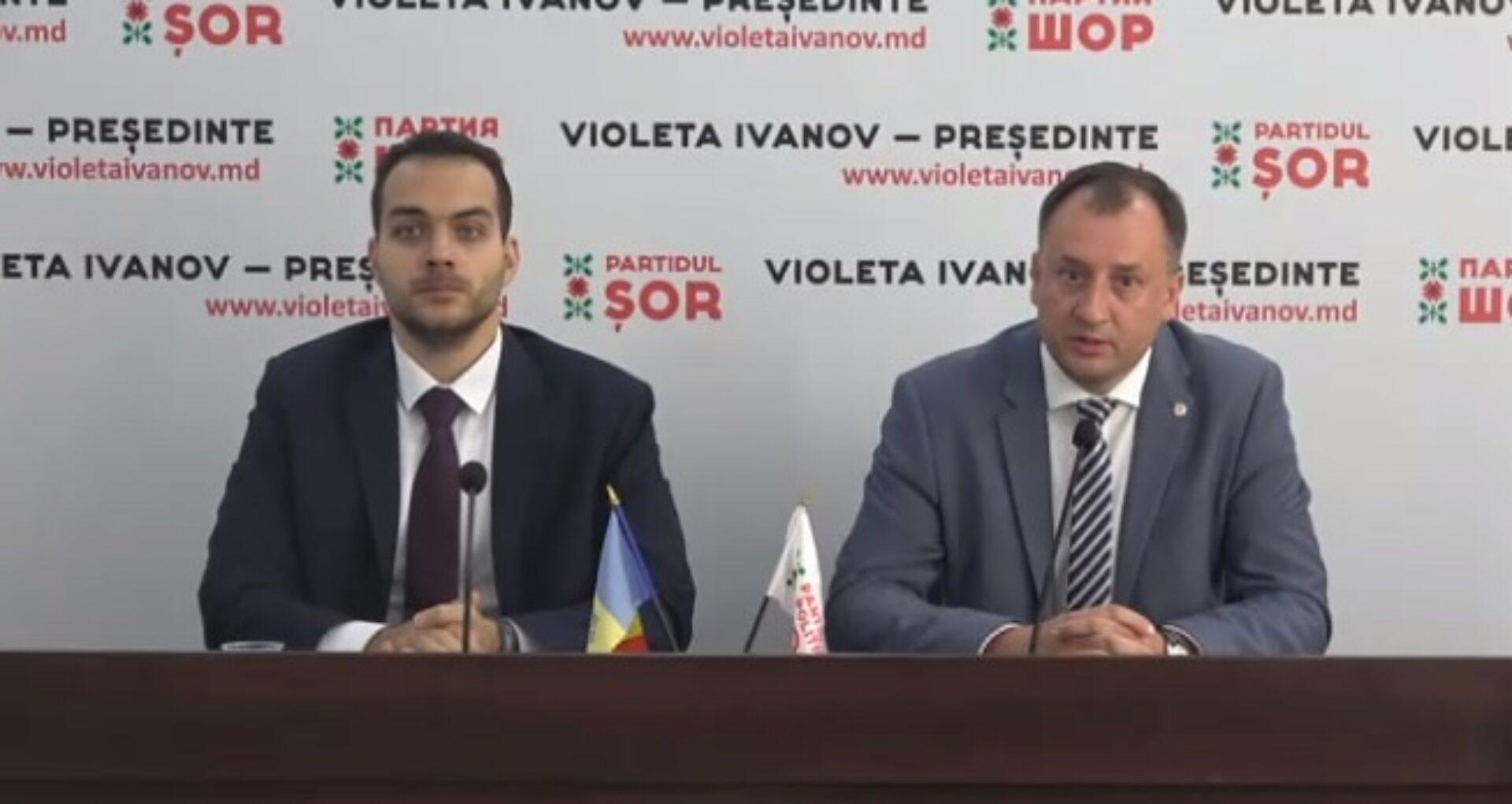 """Partidul Șor susține că băncile din R. Moldova refuză deschiderea contului grupului de inițiativă: """"Scopul este de a o exclude pe Violeta Ivanov din cursa prezidențială"""""""