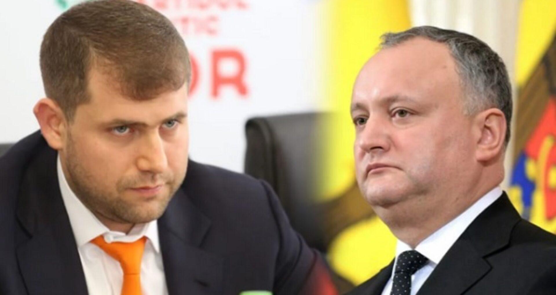"""Vicepreședinte al Parlamentului: """"Între Igor Dodon și Partidul Șor se conturează o eventuală coaliție, iar PDM este deranjat de această posibilă alianță"""""""