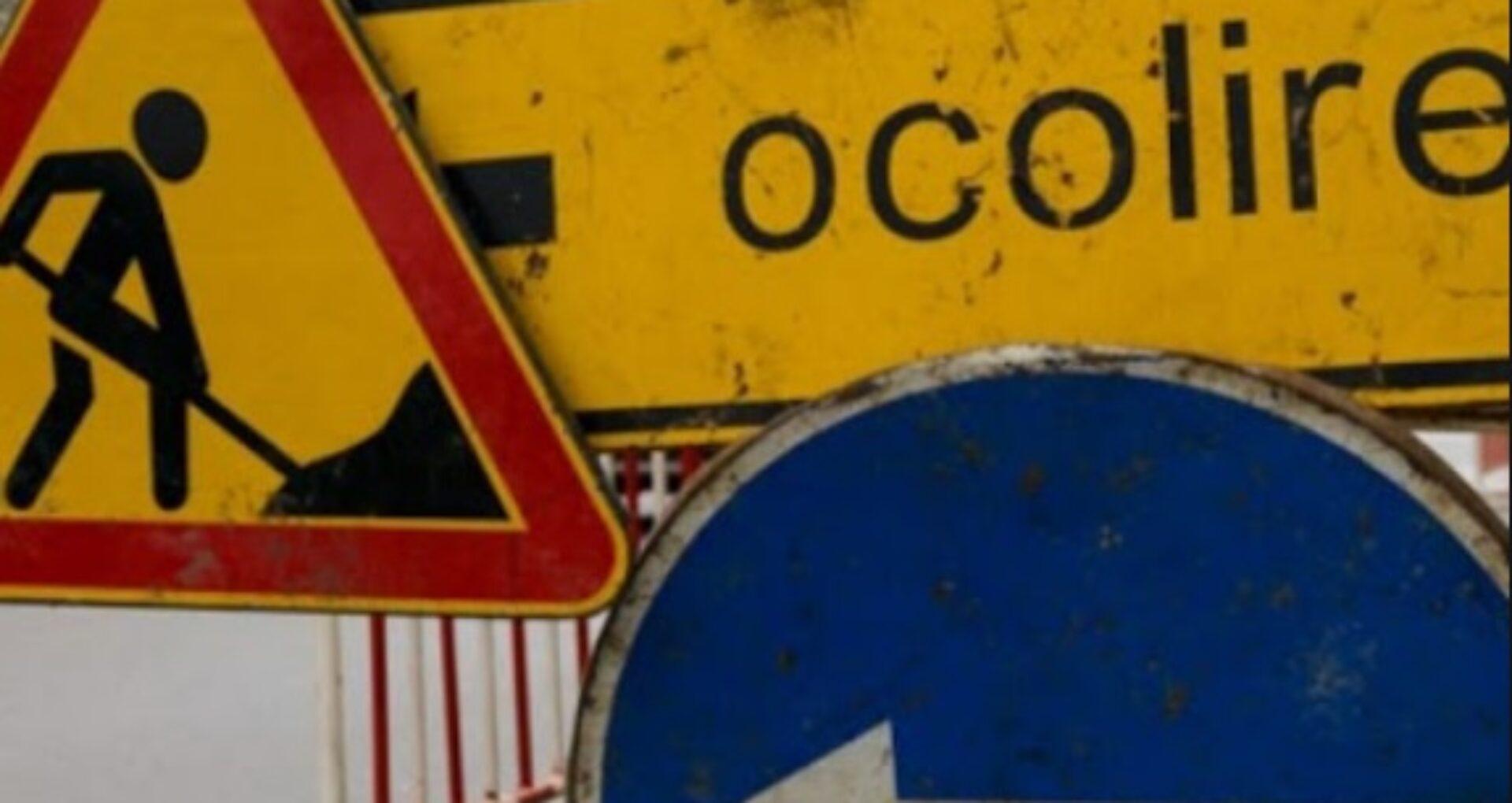Pe două străzi din capitală traficul va fi suspendat pentru 9 zile. Anunțul municipalității