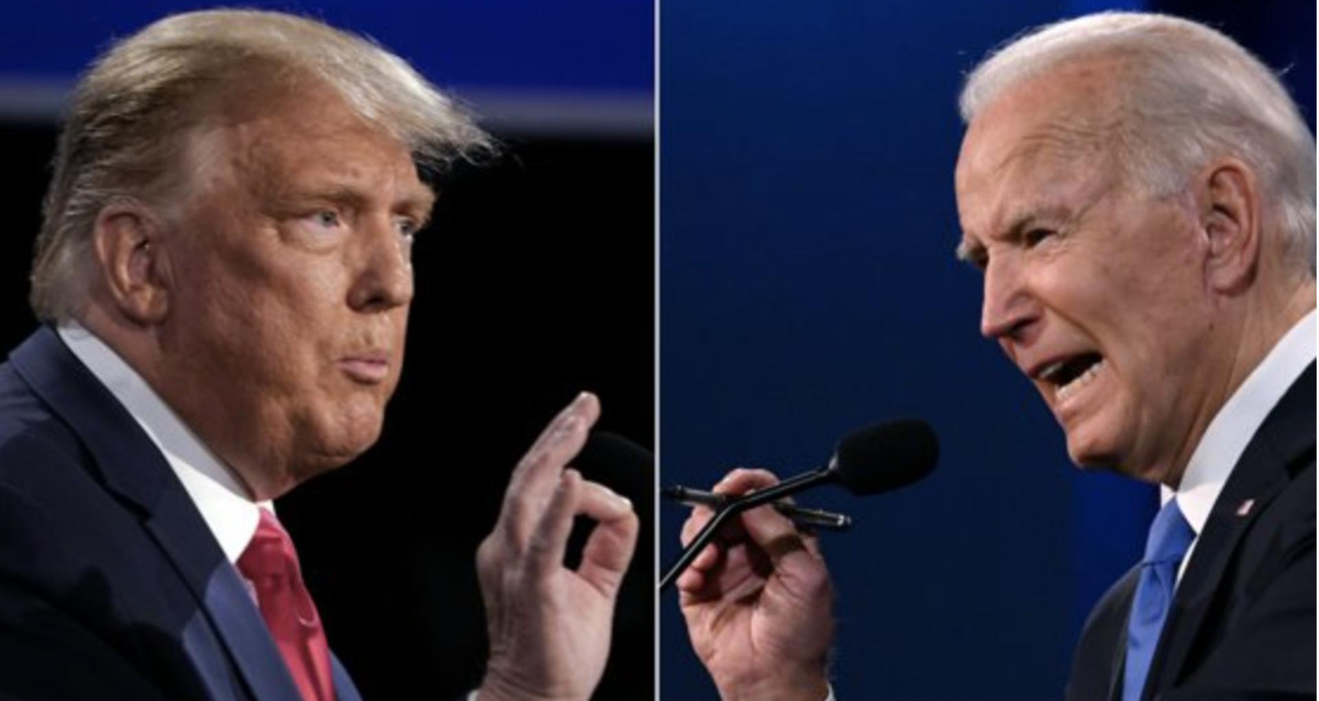 VIDEO/ Confruntarea finală Trump – Biden, înainte de alegerile din SUA. Gestionarea pandemiei de COVID-19 și corupția, printre cele mai disputate subiecte